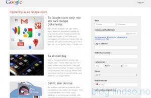google drive registrering