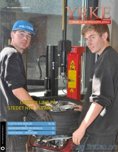 Yrke - Norges eneste fagblad for yrkesopplæringen.