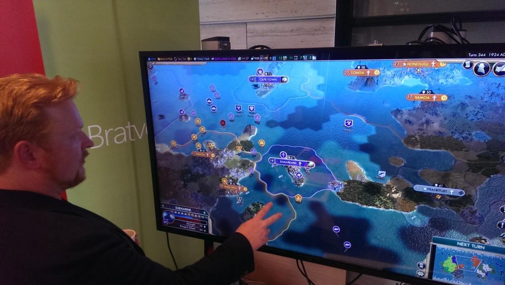 Øystein Imsen fra PedSmia med fokus på spill og koding